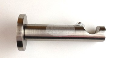 Nemesfém szimpla tartó 16 mm-es karnisrúdhoz