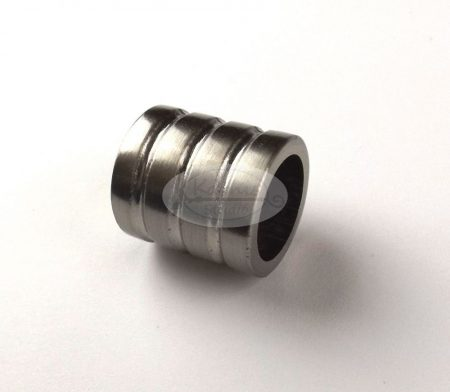 Lisabon nemesfém színű karnis végzáró 16 mm-es karnisrúdra 2 db/cs.
