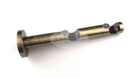 Óarany színű modern dupla fém karnistartó konzol
