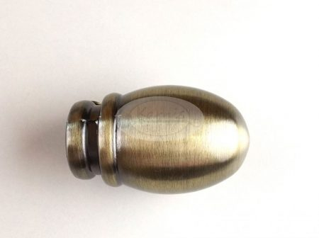 St. Louis óarany karnis végzáró 16 mm-es karnisrúdra 2 db/cs.