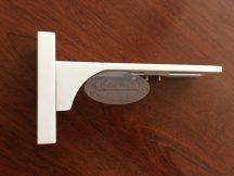 Vario fali tartókonzol fehér színű (12 cm)