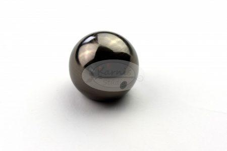 Béta onix színű fém karnis végzáró (2db/cs.)
