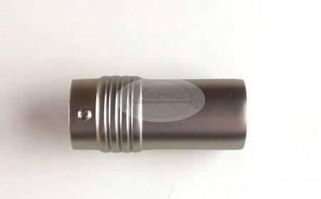 Boston nikkel-matt karnis végzáró 16 mm-es karnisrúdra 2 db/cs.