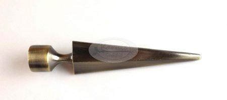 Keszthely óarany karnis végzáró 16 mm-es karnisrúdra 2 db/cs.