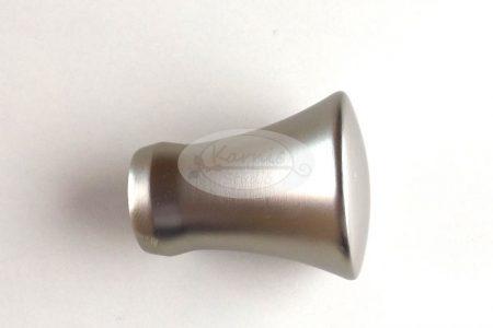 Los Angeles nikkel-matt karnis végzáró 16 mm-es karnisrúdra 2 db/cs.