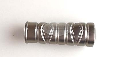 Miami nikkel-matt karnis végzáró 16 mm-es karnisrúdra 2 db/cs.