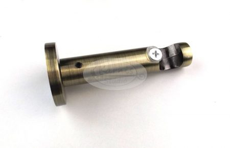 Óarany színű modern fém karnistartó konzol - 1 rudas