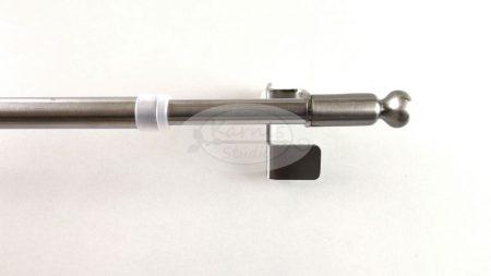 Pressfix teleszkópos önfeszítős nemesfém vitrázs rúd gömb véggel - Karnis Stúdió webáruház