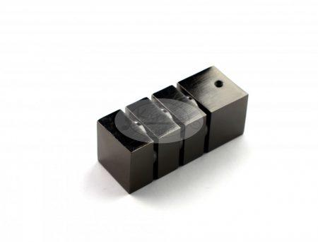 Protos onix színű fém karnis végzáró (2db/cs.)