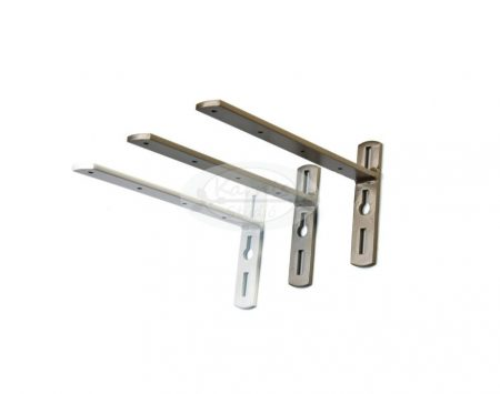 Oldalfali tartó előlapos alumínium sínhez 20 cm-es
