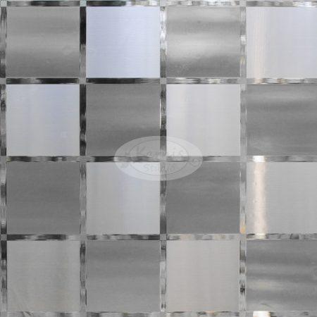 Sztatikus üvegfólia - 3D pepita