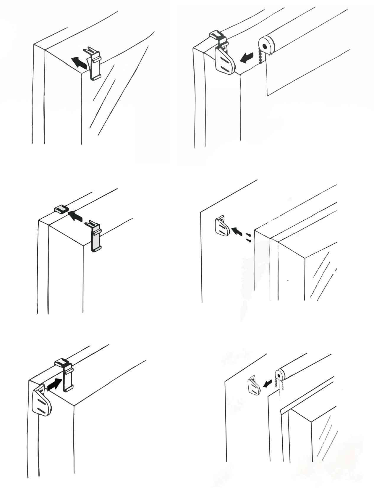 Easy Fix roló felszerelése