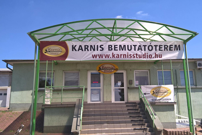 Karnis Stúdió bemutatóterem és webáruház - www.karnisstudio.hu